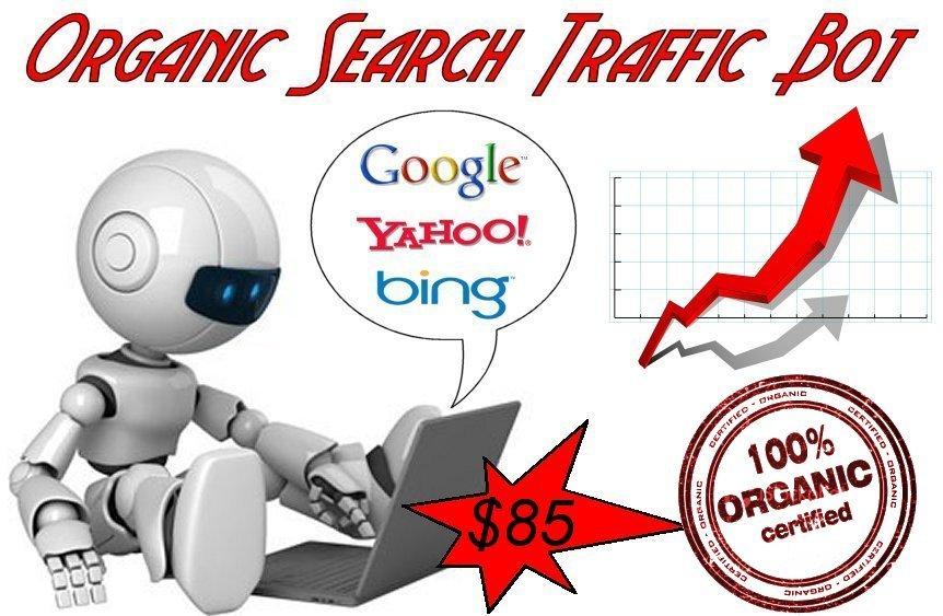 GET] Google Organic Search Traffic Bot - Nulled - Download Free