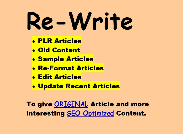 Buy article re writer