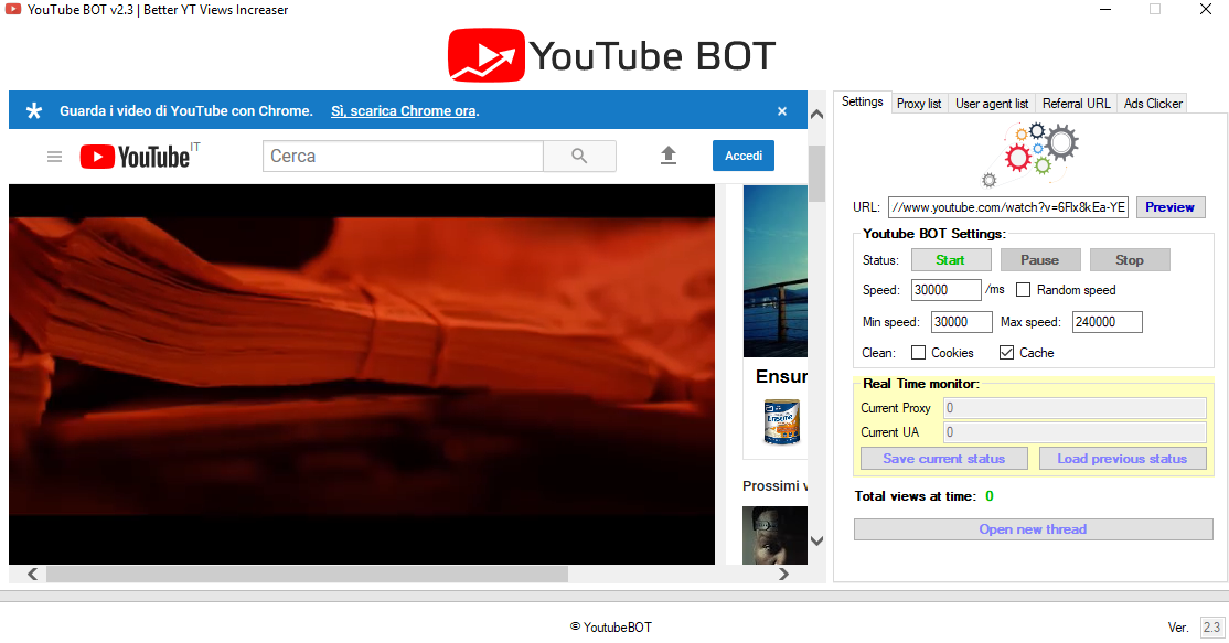YouTube BOT - Professional YT views BOT for $60 - SEOClerks