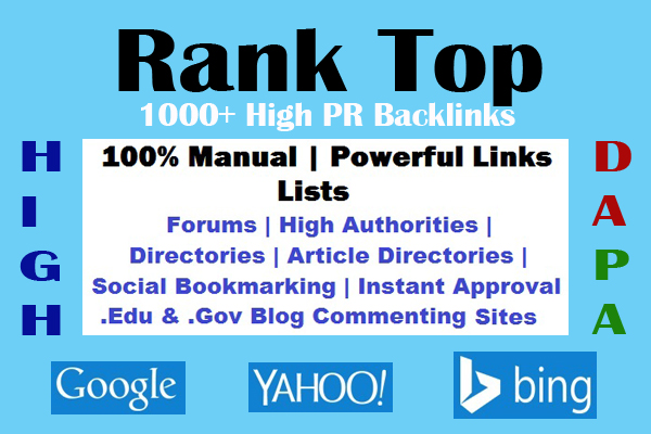 how to get powerful backlinks to my website