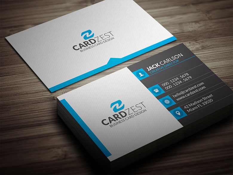 Professional business cards for 10 seoclerks for Business card designer pro