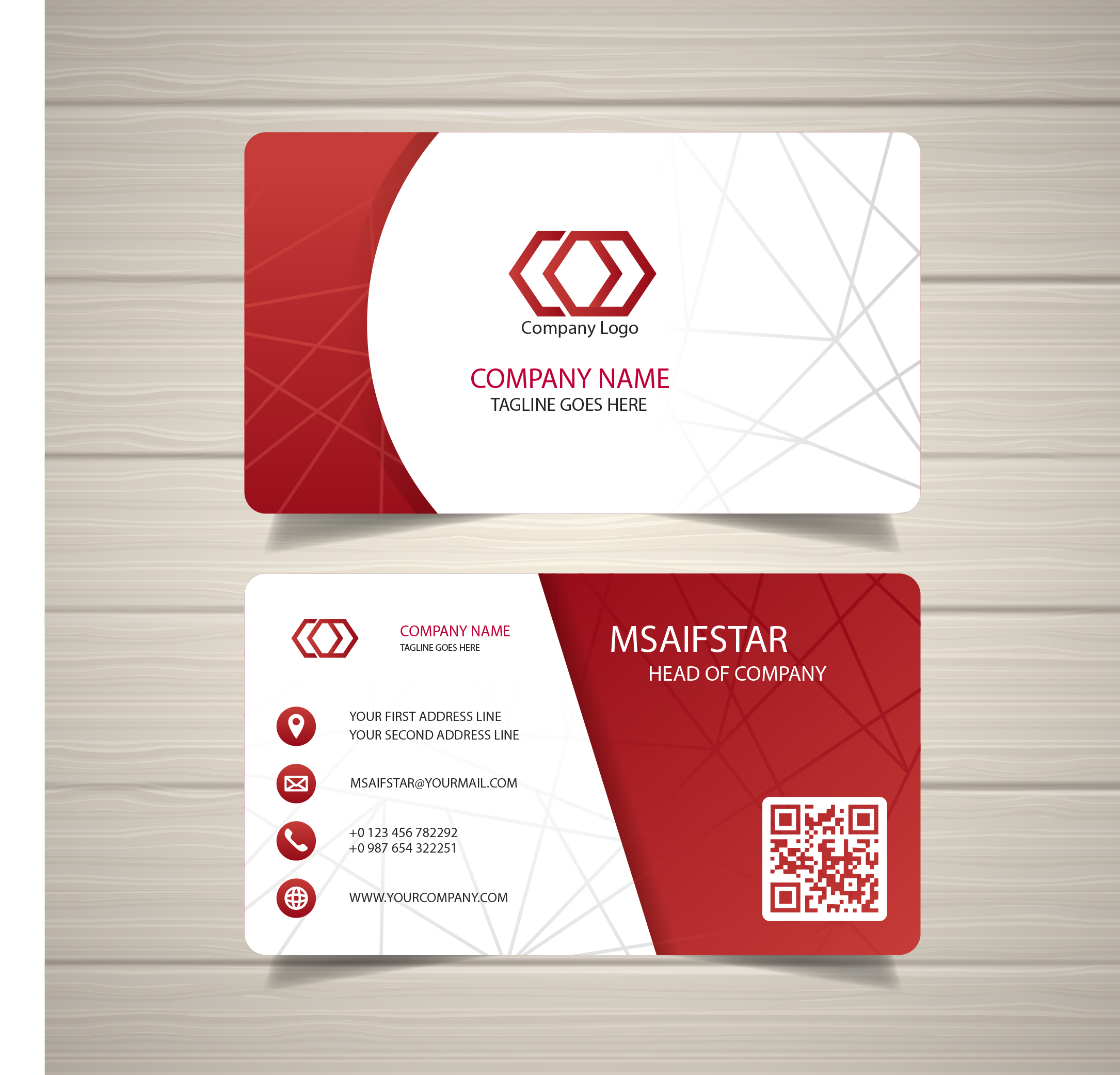 Professional Business Card for $5 - SEOClerks
