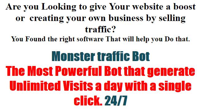 Traffic Click Bot