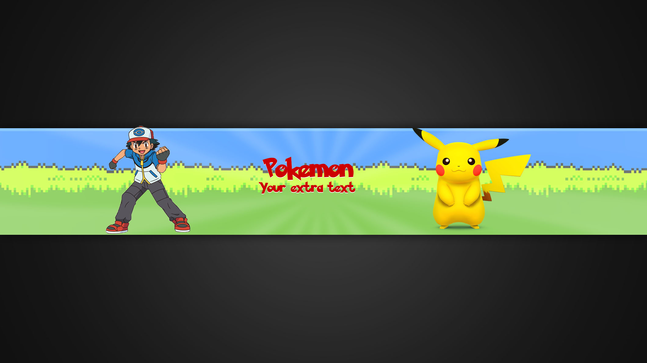 i wil make a youtube banner for u for  10