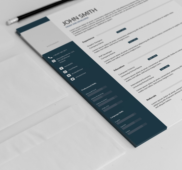50 creative Resume psds Job for 25 by seoneeded SEOClerks