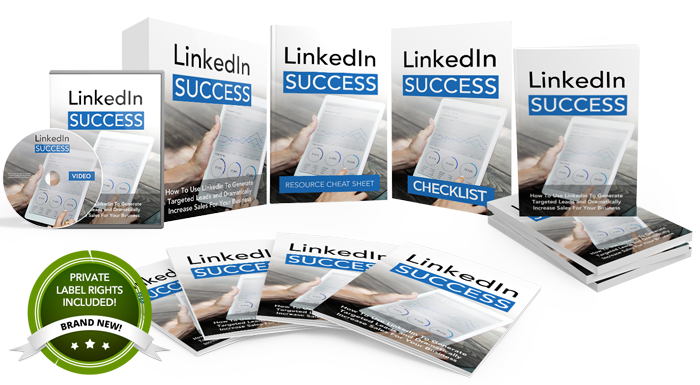 Linkedin Success Mega Pack PLR Product Pack