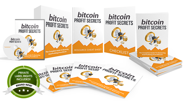 High Quality Bitcoin Profit Secrets PLR Bundle Pack
