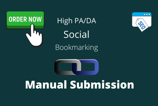 manually 35 bookmark submission backlinks,  high pa da cf tf
