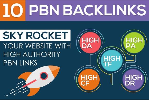 Build 11 Manual DoFollow PBNs Home Page TF CF DA PA Backlinks