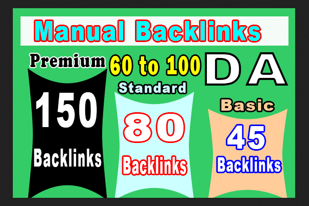 I will high authority backlinks only manual SEO link building