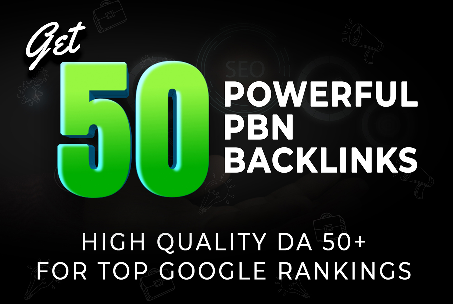 100 REAL 50 50DA+ Pbns 100 Ranking Booster STICKEY forever for top google rankings