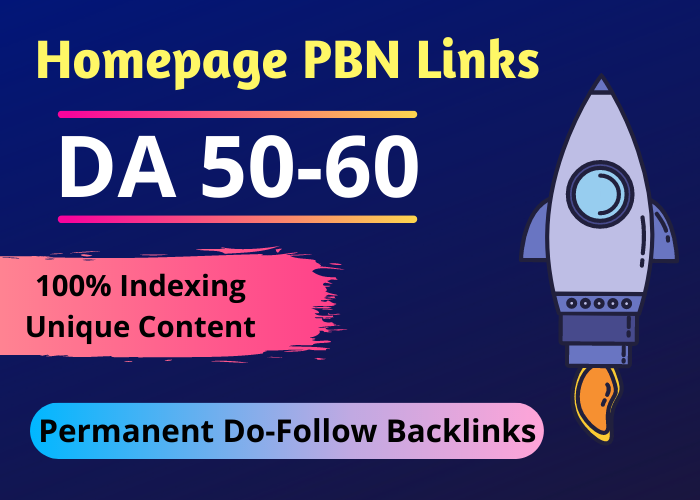 5 PBN High Metrics DA 50 TO 60 Permanent Backlinks