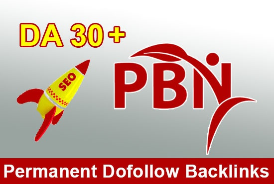 Build 5 Manual PBN DA 30+ Do-follow Backlinks
