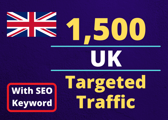 Provide You 7500 UK Country Targeted Traffic