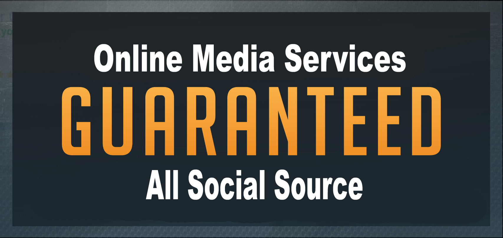 Give Real High Quality Guaranteed Service
