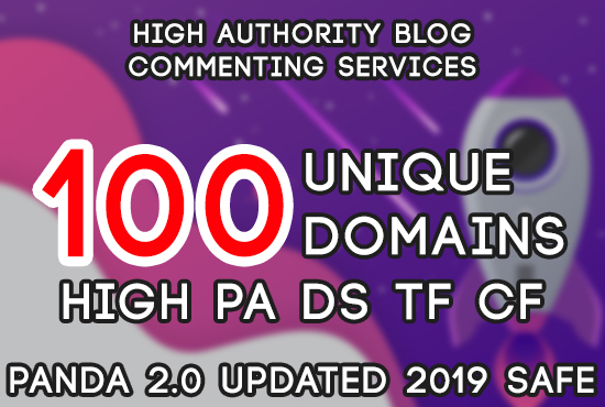 Blog 100 Unique Backlink High Authority Link on the Virtuous DA TF Web !!! BE No. 1 on the search engine.