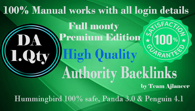 The full monty Premium Edition high DA sites list Full link wheel campaign,  including