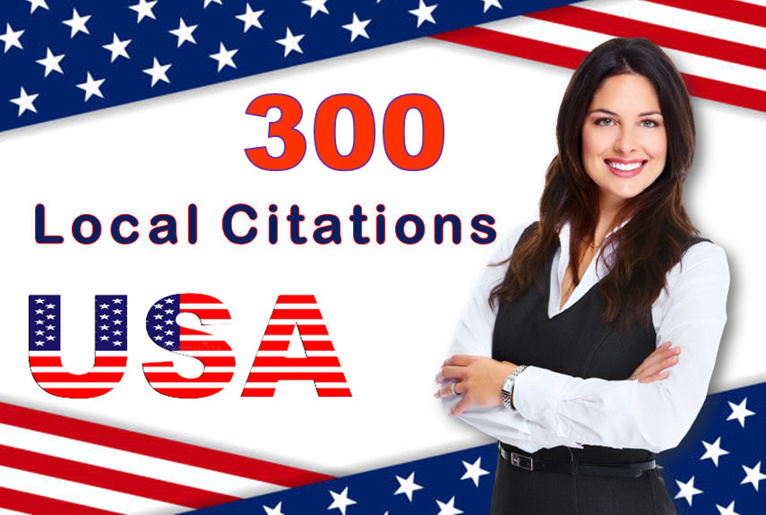 I will make top 300 USA local citations and directory submission