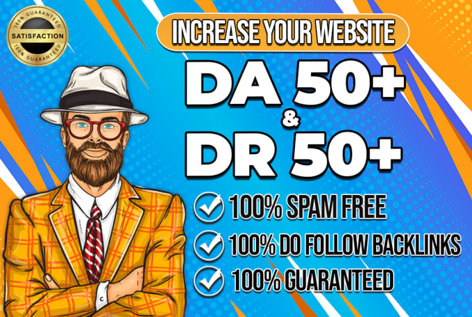 I will increase ahrefs domain rating DR 50 fast