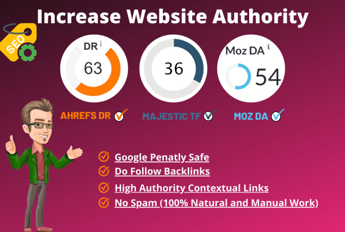 I will increase ahrefs domain rating DR 70 fast Guaranteed result
