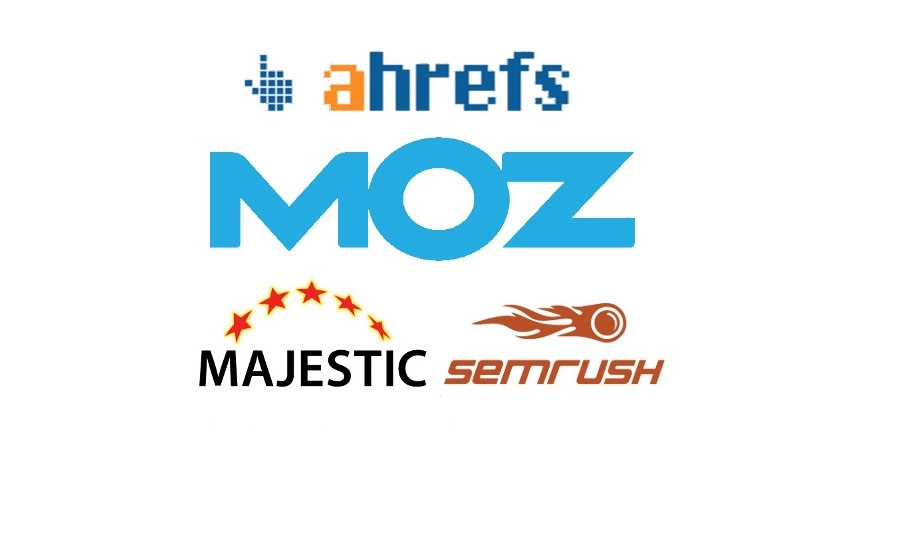 I will give ahrefs,  semrush,  majestic and moz reports for you
