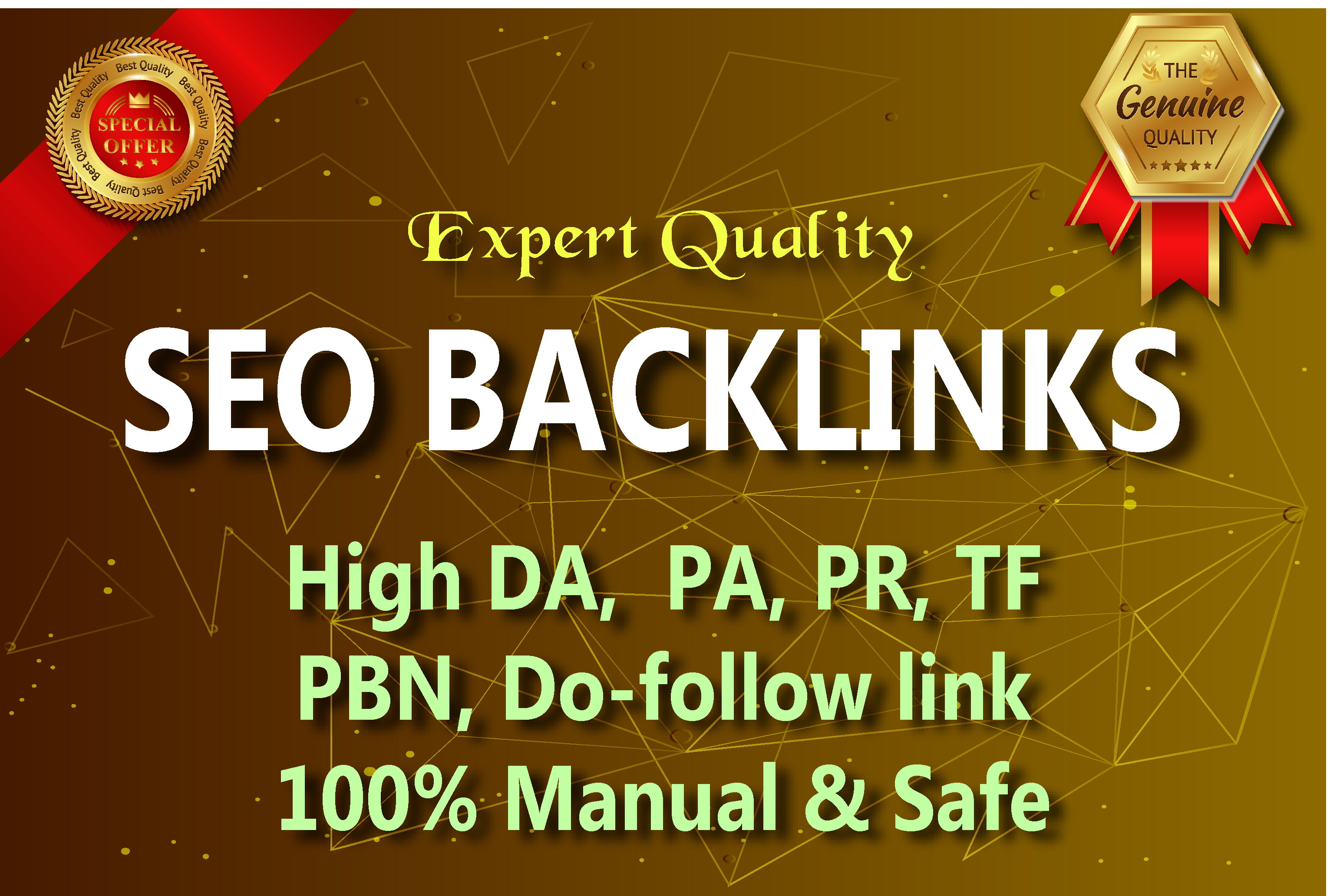 I will do 60 Link Building in High DA sites , Expert Quality Seo Backlinks.