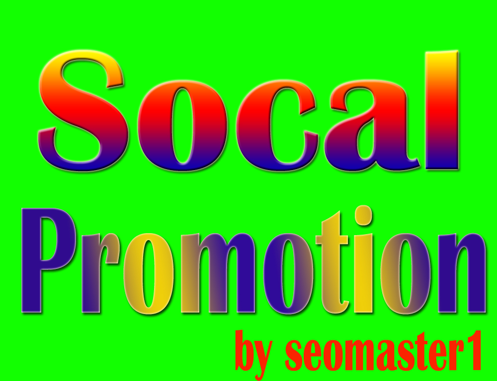 Instant Social promotion HQ and Express Delivery
