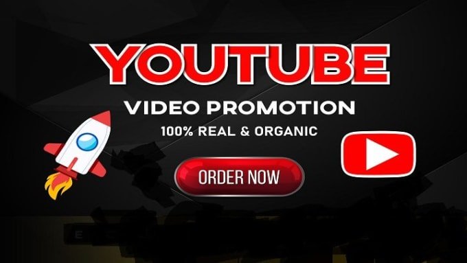 Fast HQ youTube video promotion with safe audience