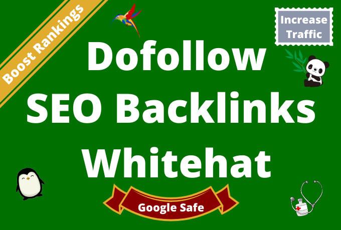 do 80 powerful high da, TF, DR dofollow backlinks, seo link building