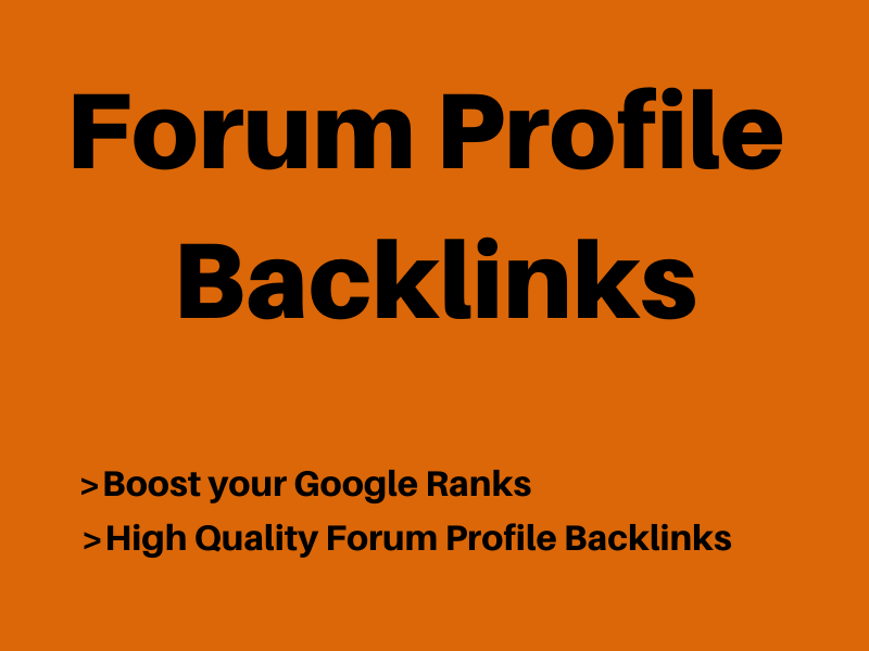 High Quality PR 500 forum profile backlinks with very high indexer. Improve ranking
