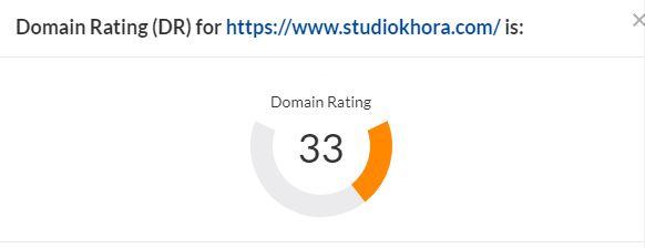 Increase domain rating increase ahrefs DR 0-70+ guaranteed