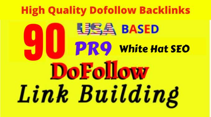do 90 USA PR9 DOFOLLOW SEO BACKLINKS LINK BUILDING FOR GOOGLE RANK IMPROVES