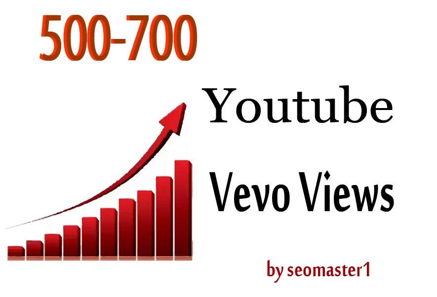 Youtube video vevo Promotion non drop guarantee