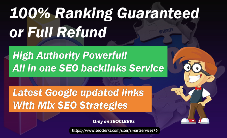 will build PBN and white hat All SEO Strategy backlinks According to Google and will Rank your site