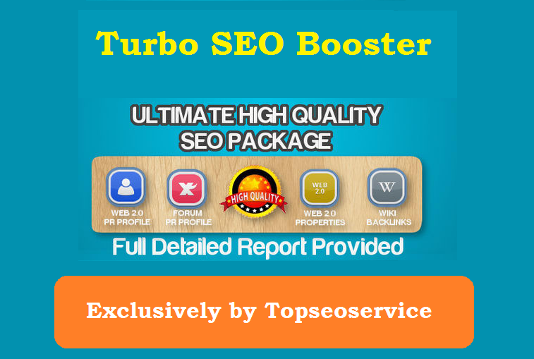 Turbo SEO Booster V1 Ultimate High Quality SEO Package