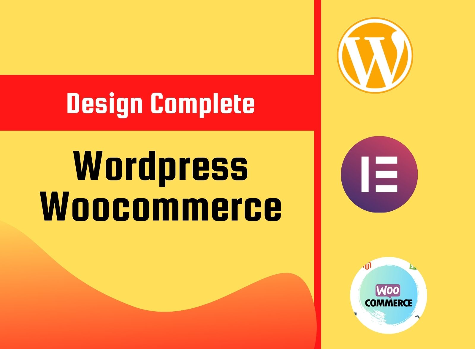 I will design clean woocommerce website by ocean wp,  elementor pro