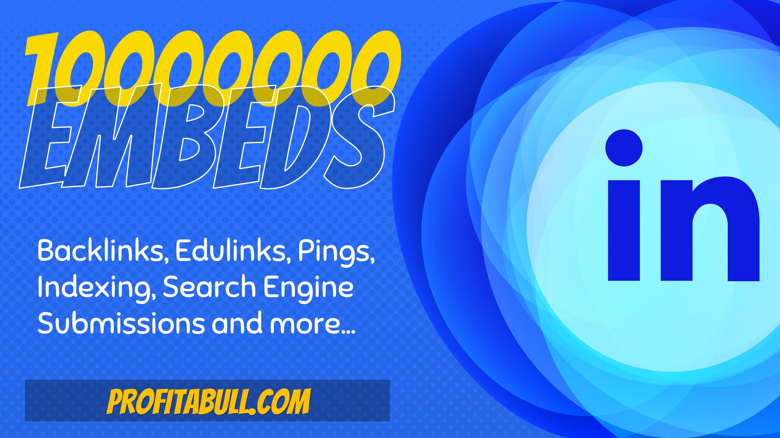 10 Million LinkedIn Post Embeds