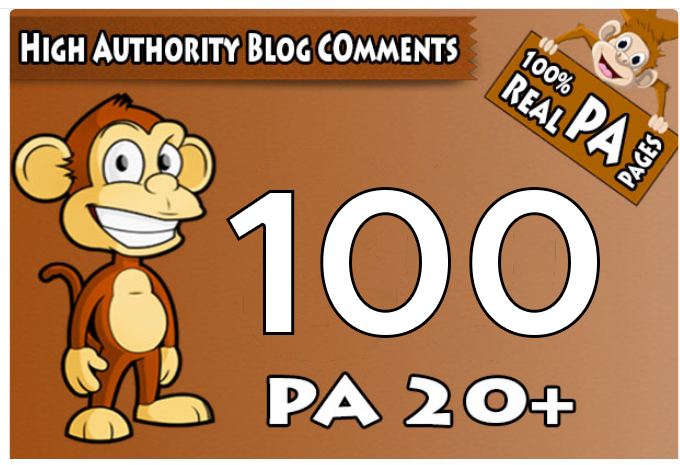 I will skyrocket your websites with 100 High PA/DA TF/CF Blog C0mments