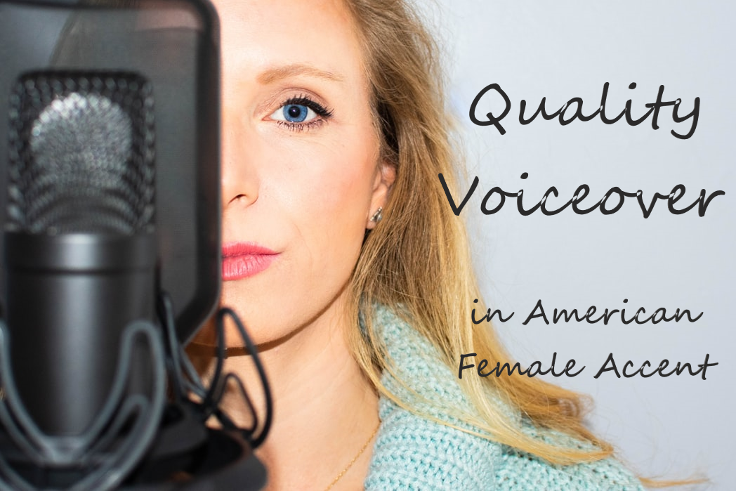 I will record a quality voiceover in American accent