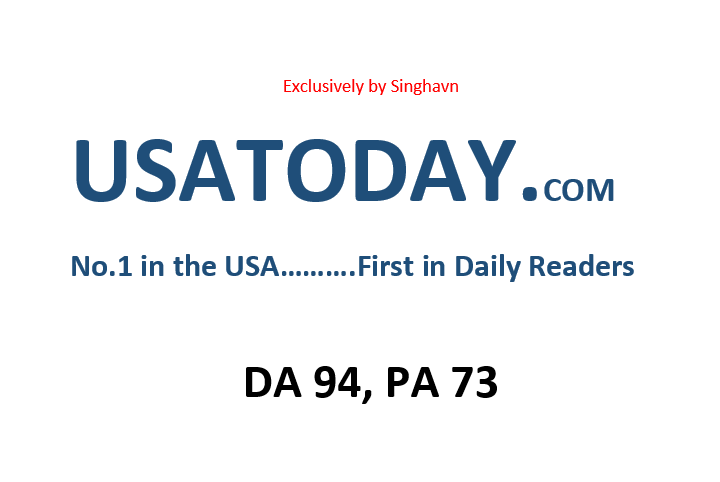 Write Press Release on USATODAY. com DA 94
