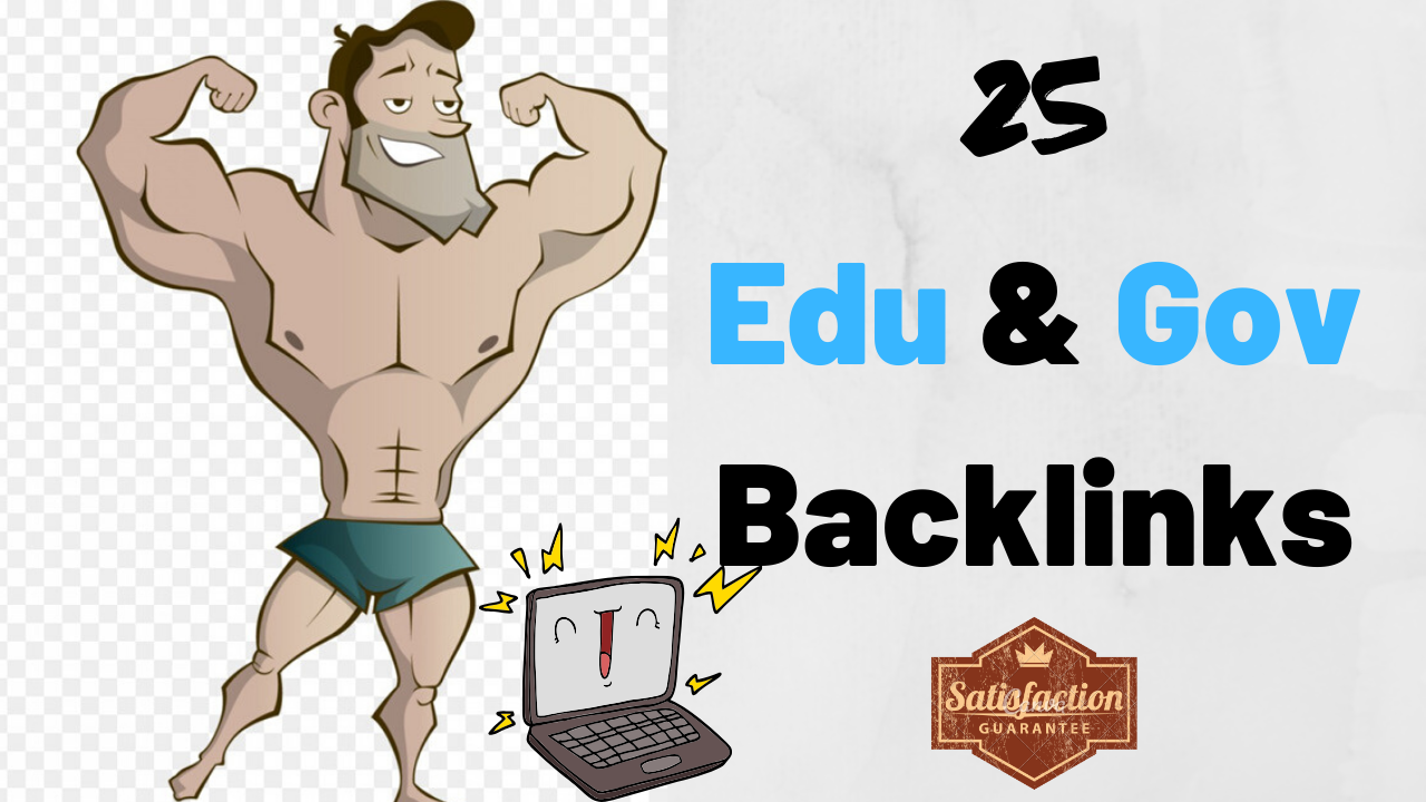 I Will Create 25 Edu & Gov Backlinks To Boost Your Website Ranking