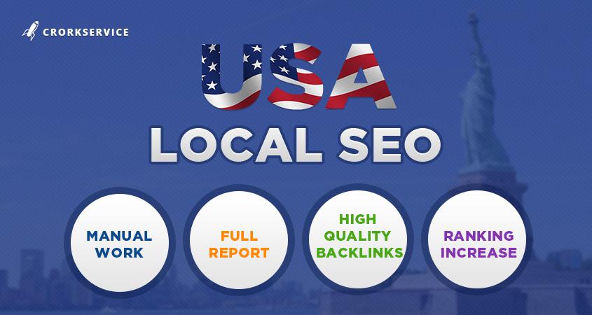 USA Local SEO - high quality backlinks to get rankings