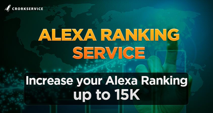 Alexa Ranking Service - Increase Alexa up to 15K