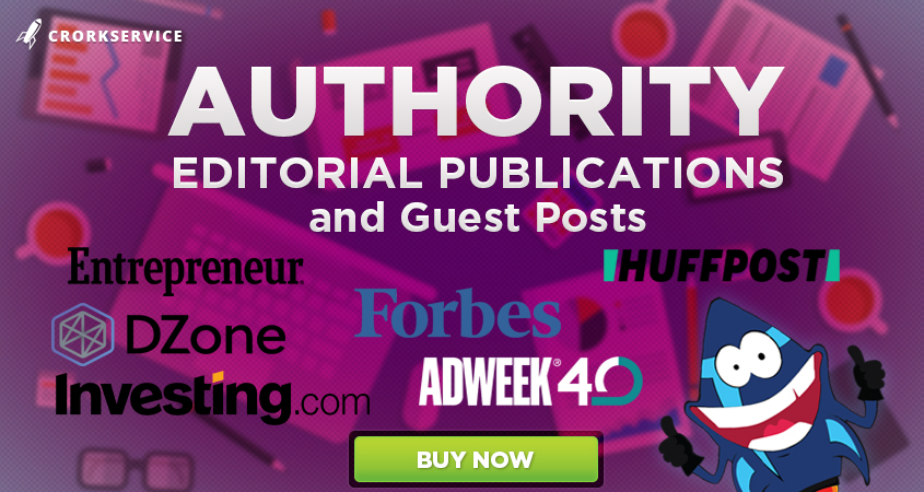 Authority Editorial Publications on Forbes,  Adweek,  Entrepreneur,  Dzone and others