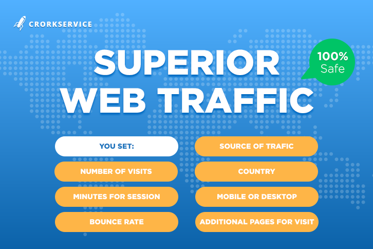 Superior Web Traffic for Your Website