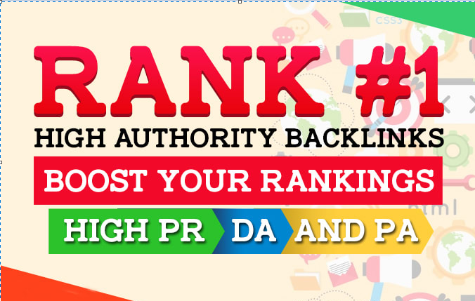 Rank You 1st Page In Google Guaranteed With Seo Backlinks 1000 High Authority Backlinks