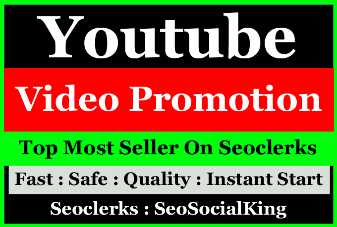 Bestest YouTube Video SEO Promotion Marketing