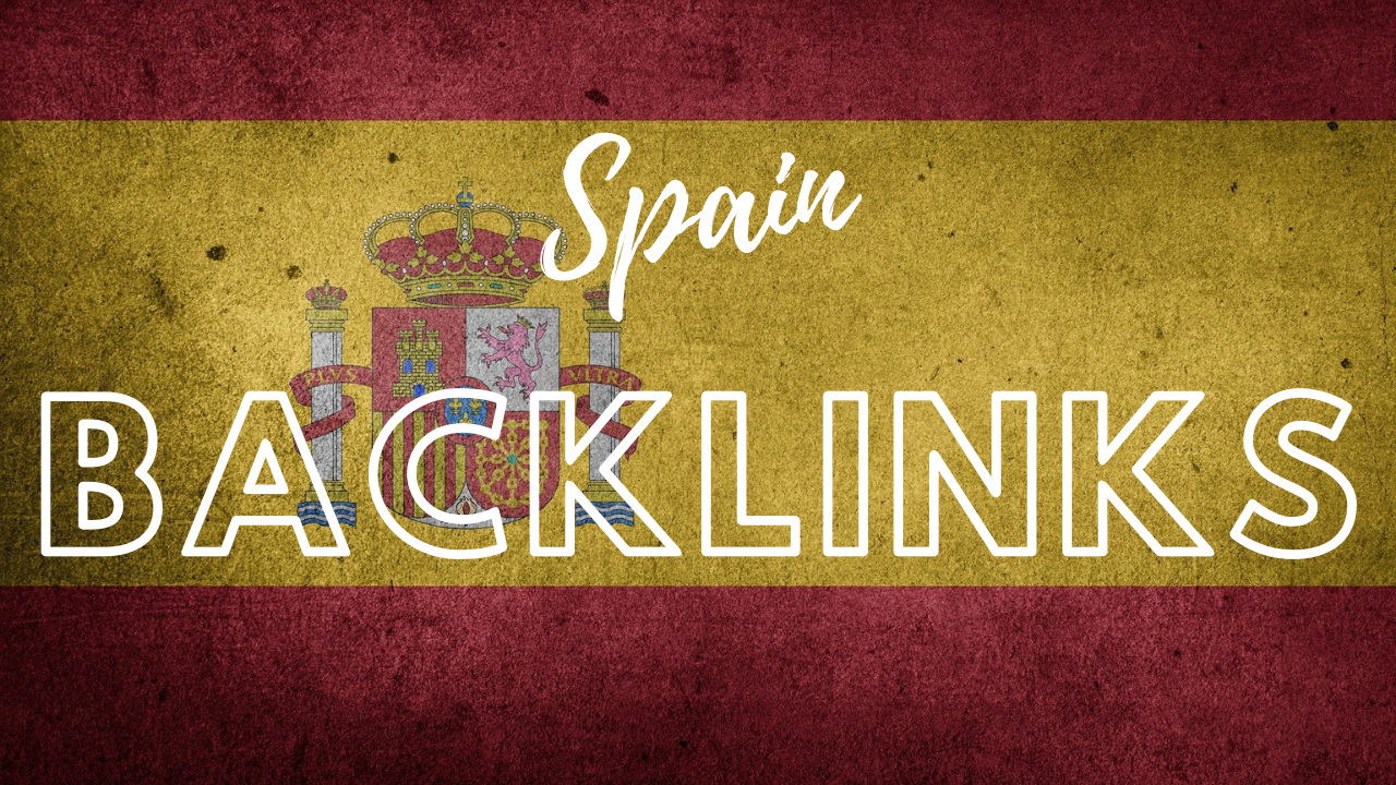 SEO friendly manual backlinks from relevant sites Spain websites