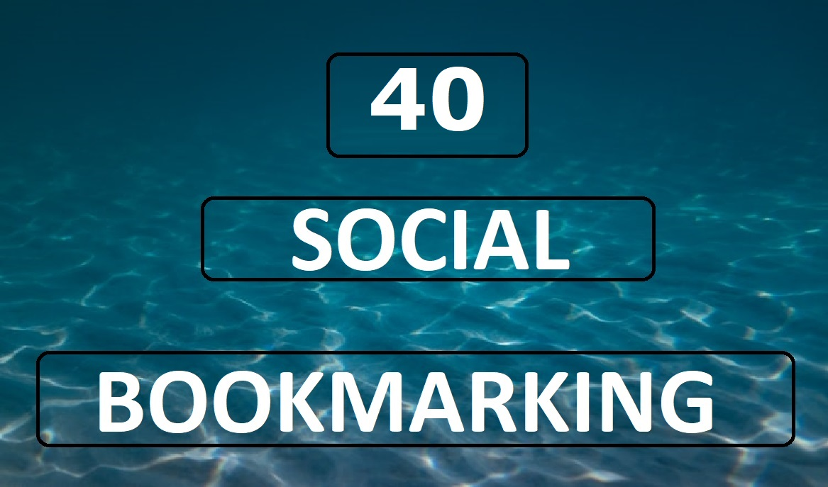 40 manual social bookmarking SEO backlink to boost your website ranking