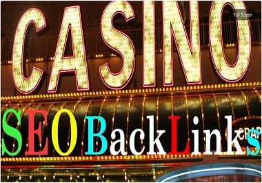 Casino 150 Web 2.0 Blog Panda & Penguin Safe Backlinks High TF CF DA PA